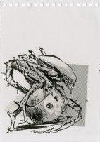Alien Vs. Robot Illo Comic Art