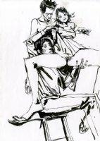 Sencilla Fanta - Pin Up Comic Art