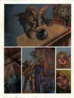 2000 AD - Slaine The Horned God Issue 650 Page 1 Comic Art