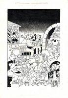 Sci-Fi Illustration Comic Art