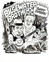 the Bilgewater Brothers  Swamp Jamboree  Comic Art
