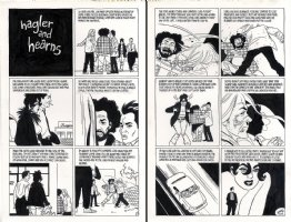 Love And Rockets Vol. 2 - Complete 2 Page Story Issue 12 Page 1-2 Comic Art