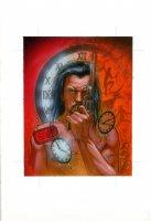 Vandal Savage - D.C. Villains trading card series Comic Art
