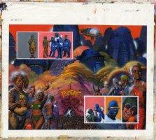 Batman Judge Dredd : Die Laughing Issue 1 Page 7-8 Comic Art
