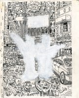 Unpublished New Yorker Cover Comic Art
