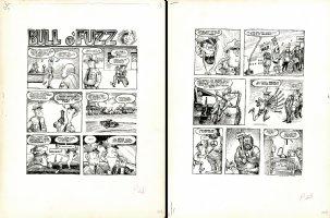 Pete Millar's Drag Cartoons 2 page story Comic Art