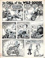 Pete Millar's Drag Cartoons Comic Art