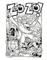 6- ZERO ZERO - cover !!!! Issue 6 Comic Art