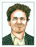 Dave Eggers Portrait... Comic Art