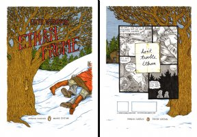 Ethan Frome - Front & Back COVERS !!! Comic Art
