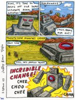 Incredible Change Bots II Page 127 Comic Art