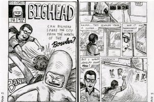 Sulk - Bighead - 2 pages! w/Mock Cover! Issue 1 Comic Art