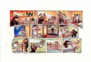 Spy Vs Spy - Mad Magazine #446 Issue 446 Comic Art