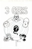 3 Geeks, full circle summer special COVER Issue 3 Page cover Comic Art