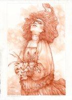 Autumn Gardens, Once Again - Illustration Comic Art