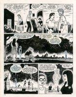 Love & Rockets Comic Art