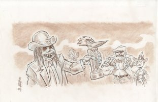 MySpace Dark Horse Presents - The Goon - #2 Comic Art