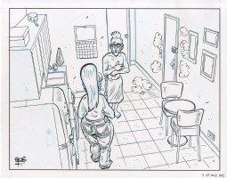 Minimum Wage Issue 2 Comic Art