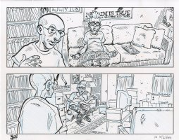 Minimum Wage Issue 3 Comic Art