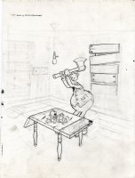 Fun w/Blackie Blackchurch and The Delicious Little Devil Comic Art