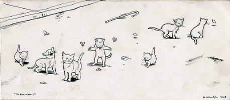The Blue Kittens (2008)  Comic Art