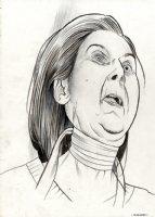 Portrait of a Woman Comic Art