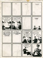 Pim & Francie: The Familiar - Reassembled Partial Panels Comic Art