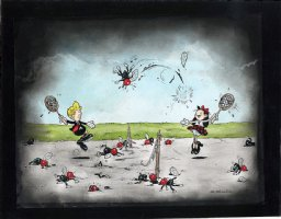 Pim & Francie - Love : Match Comic Art