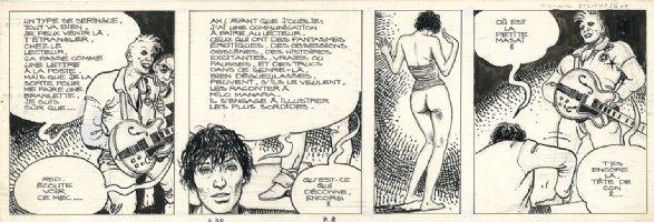 Dies Irae: The African Adventures Of Giussepe Bergman Page 8 - tier 1 Comic Art