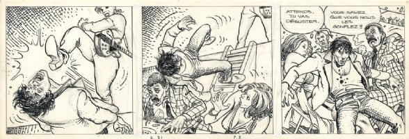 Dies Irae: The African Adventures Of Giussepe Bergman Page 8 - tier 2 Comic Art