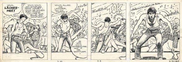 Dies Irae: The African Adventures Of Giussepe Bergman Page 8 - tier 3 Comic Art