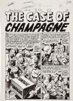 Aces High - The Case Of Champagne - Complete Story Issue 3 Comic Art