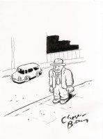 Finished Sketch Comic Art