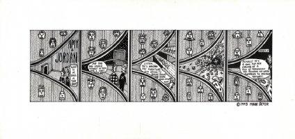 Amy & Jordan - 1993 Comic Art
