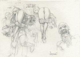 Amazing Pencil Sketches!!! Comic Art