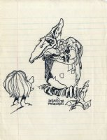 Character Design - Herman The Pteranodon Comic Art