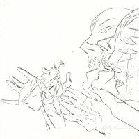 Hands Comic Art