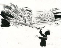 Ray Bradbry's Homecong Illustration Comic Art
