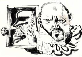 Self Portrait Comic Art