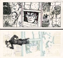 Mu - Corto Maltese  Page PUBLISHED strip art Comic Art