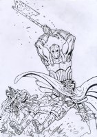 2000 AD - Judge Dredd Issue Prog. 1975 Page Cover Comic Art