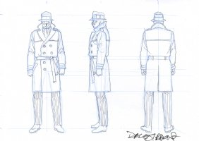 Watchmen - Rorschach Toy Designs Comic Art