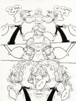 Doppelg�nger - Popeye Tribute Page 3 Comic Art