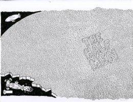 The Half Men Page Wraparound Cover Comic Art
