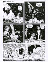 The Half Men - Kona - Sam Glanzman Tribute - #1 Comic Art