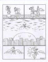 Unidentified page Comic Art