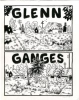 Or Else - Glenn Ganges Title Page Issue 5 Comic Art