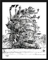 May All Your Bacon Burn - Tribute to Hayao Miyazaki Comic Art