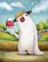 Mr. Dough and the Egg Princess - Tribute to Hayao Miyazaki  Comic Art