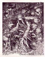 Swamp Spirit Comic Art
